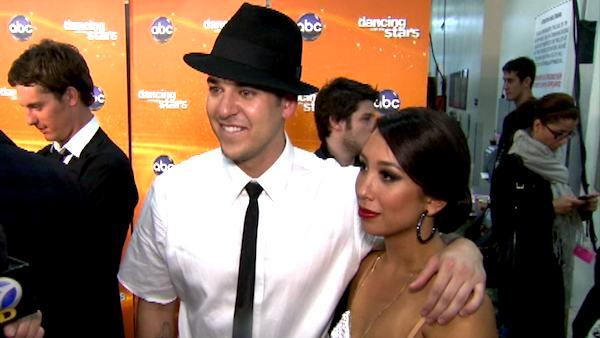 Rob Kardashian on 'DWTS' confidence