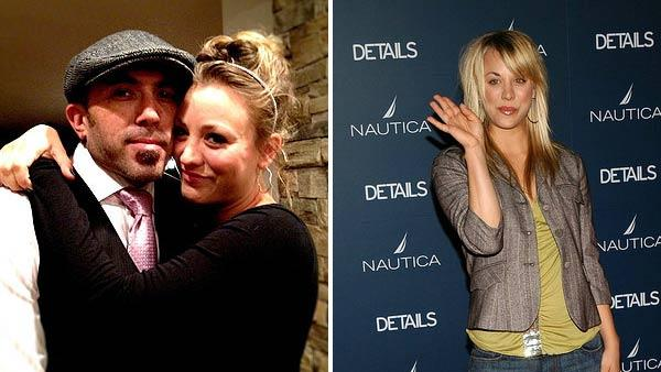 Kaley Cuoco appears in a photo with fiance Josh Resnik from her official Facebook page. / Kaley Cuoco appears in a photo from an event on May 11, 2011. - Provided courtesy of OTRC / facebook.com/KaleyCuoco / flickr.com/photos/clothesdefamosos/