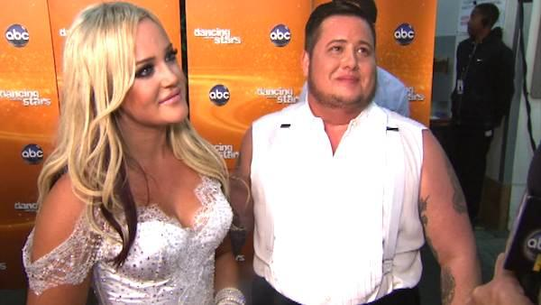 Chaz Bono talks to OnTheRedCarpet.com after the sixth elimination on season 13 of Dancing With The Stars.