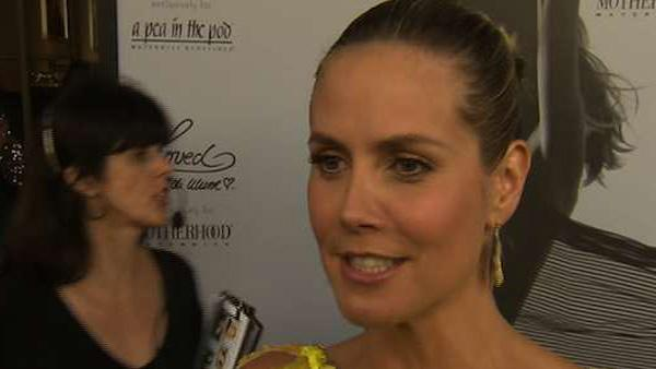 Heidi Klum talks to OnTheRedCarpet.com in late 2010. - Provided courtesy of OTRC