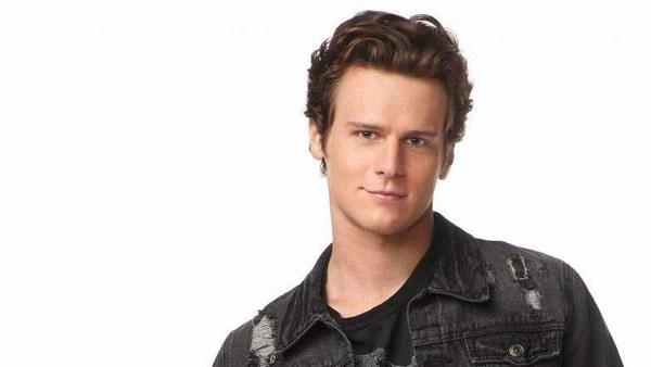 Jonathan Groff appears in a promotional photo for the first season of Glee. - Provided courtesy of FOX / Danielle Levitt