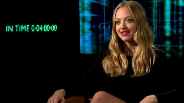 Amanda Seyfried talks 'In Time'