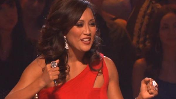 Carrie Ann Inaba appears on Dancing With The Stars on Oct. 24, 2011. - Provided courtesy of ABC