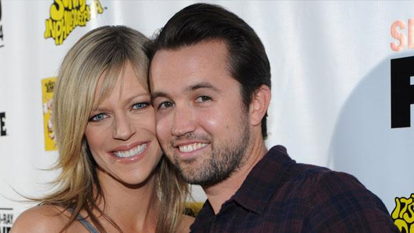 Kaitlin Olson and Rob McElhenney at the premiere screening of ITS ALWAYS SUNNY IN PHILADELPHIA on Sep. 14 2010 in Hollywood, CA - Provided courtesy of FX
