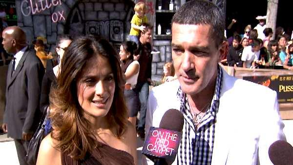 Antonio Banderas talks 'Puss in Boots'