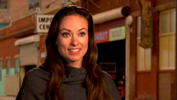 Olivia Wilde talks to OnTheRedCarpet.com about In Time. - Provided courtesy of OTRC