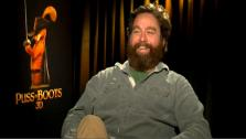 Zach Galifianakis talks to OnTheRedCarpet.com about Puss In Boots. - Provided courtesy of OTRC