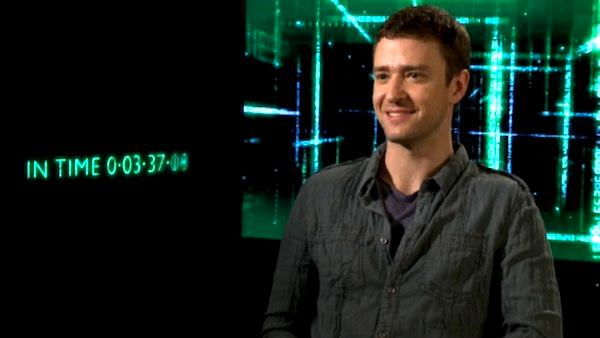 Justin Timberlake talks 'In Time'