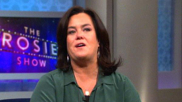 Rosie O'Donnell talks about her potty mouth