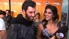 Hope Solo talks to OnTheRedCarpet.com after the October 31 episode of Dancing With The Stars. - Provided courtesy of OTRC