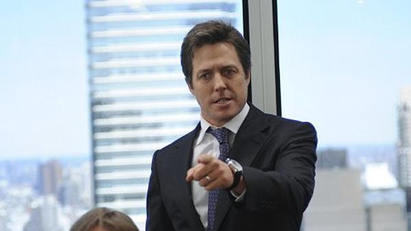 Hugh Grant appears in a scene from the 2009 film 'Did You Hear About The Morgans?'