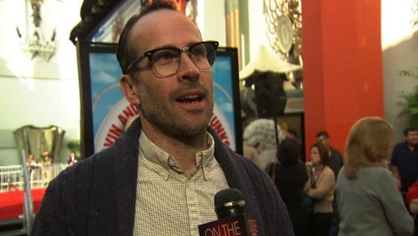 Jason Lee talks to OnTheRedCarpet.com at a hand and footprint ceremony honoring Alvin and the Chipmunks in November 2011. - Provided courtesy of OTRC