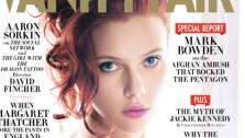 Scarlett Johansson appears on the cover of Vanity Fairs December 2011 issue. - Provided courtesy of Vanity Fair