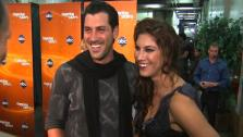 Hope Solo talks to OnTheRedCarpet.com after seventh Dancing With The Stars results show on Nov. 1, 2011.
