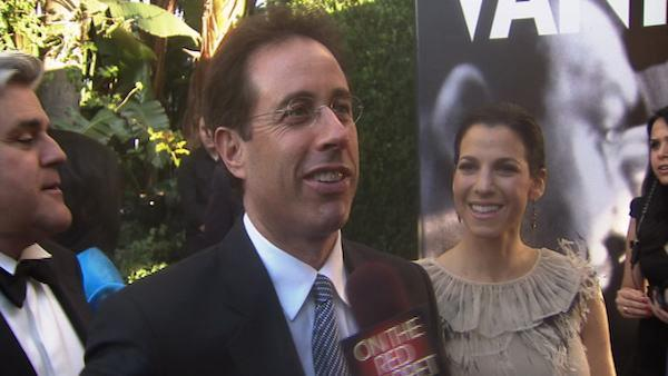 Jerry Seinfeld talks to OnTheRedCarpet.com at a post-Oscar party thrown by Vanity Fair magazine on March 8, 2010. - Provided courtesy of OTRC