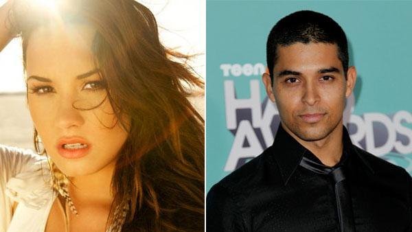 Demi Lovato in an undated photo from her official Facebook page on the left, on the right Wilmer Valderrama arrives at the third annual TeenNick HALO awards in Los Angeles, Wednesday, Oct. 26, 2011. - Provided courtesy of Facebook.com/DemiLovato / AP / Matt Sayles