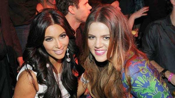 Kim Kardashian, Kris Humphries and Khloe Kardashian celebrate Kim Kardashians birthday at Marquee Nightclub at the Cosmopolitan in CityCenter on October 22, 2011 in Las Vegas, Nevada. - Provided courtesy of Photo/Denise Truscello