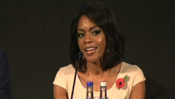 Naomie Harris talks new 'Bond girl' role
