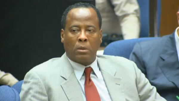 Nov. 3, 2011:Michael Jacksons doctor Conrad Murray appears at his involuntary manslaughter trial. - Provided courtesy of OTRC