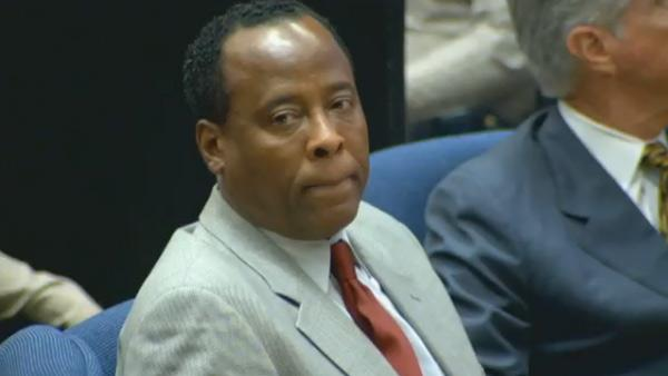 Nov. 3, 2011:Michael Jackson's doctor Conrad Murray appears at his involuntary manslaughter trial.