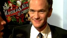 Neil Patrick Harris talks to OnTheRedCarpet.com at the Hollywood premiere of A Very Harold and Kumar 3D Christmas. - Provided courtesy of OTRC
