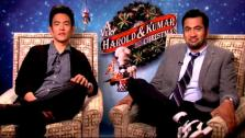 John Cho and Kal Penn talk to OnTheRedCarpet.com at a press junket for A Very Harold and Kumar 3D Christmas. - Provided courtesy of OTRC