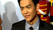 John Cho talks to OnTheRedCarpet.com at the Hollywood premiere of A Very Harold and Kumar 3D Christmas. - Provided courtesy of OTRC