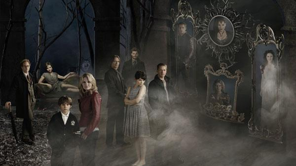 The cast of Once Upon A Time appears in a promotional photo from the show. - Provided courtesy of ABC