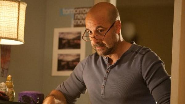 Stanley Tucci appears in a scene from the 2010 movie 'Easy A.'