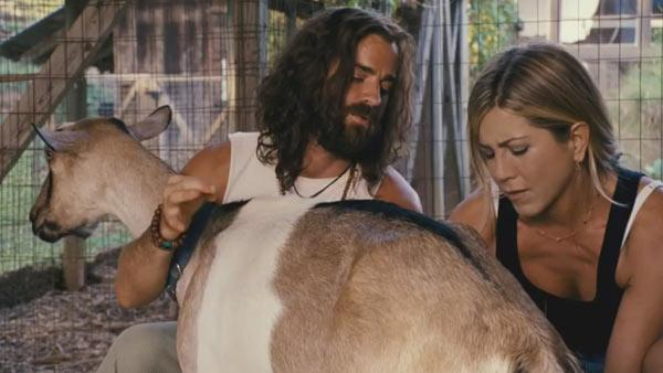 Jennifer Aniston and Justin Theroux appear in a still from the 2012 film, Wanderlust. - Provided courtesy of Universal Pictures