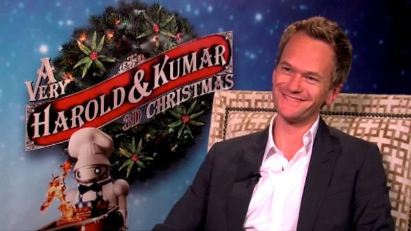 Neil Patrick Harris talks to OnTheRedCarpet.com in a junket for A Very Harold and Kumar 3D Christmas.