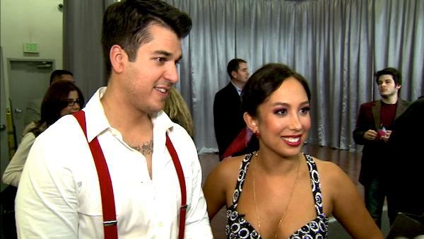 Rob Kardashian on 'DWTS': I'm super happy