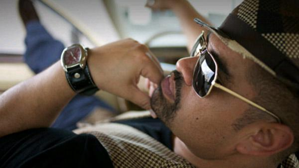 Heavy D appears in a promotional photo for his 2011 album, 'Love Opus.'
