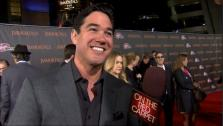 Dean Cain talked to On The Red Carpet host Chris Balish at the premiere of Immortals in Los Angeles on Nov. 7, 2011. - Provided courtesy of OTRC