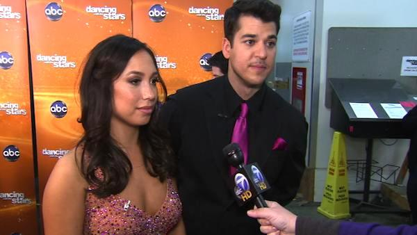 Rob Kardashian talks after 8th results show