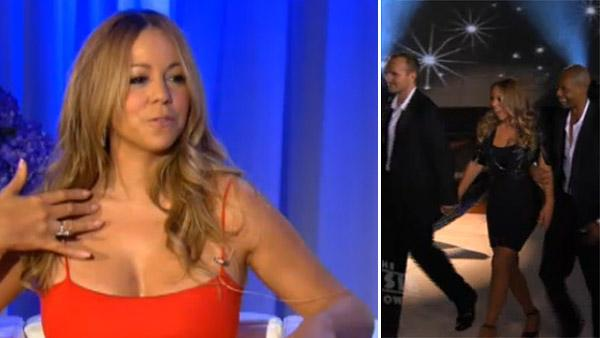 Mariah Carey is interviewed by Gayle King in this video provided by the Jenny Craig weight loss program, which named Carey as its newest brand ambassador in November 2011. / Mariah Carey appears on 'The Rosie Show' on Nov. 8, 2011.