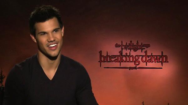 Taylor Lautner: Best thing about 'Dawn'..