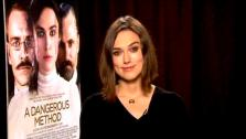 Keira Knightley talks to OnTheRedCarpet.com about A Dangerous Method. - Provided courtesy of OTRC