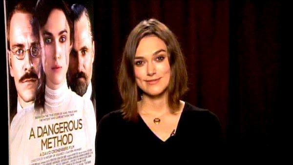 Keira Knightley talks about 'A Dangerous Method'