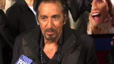 Al Pacino says he plays version of himself that is a little bit nuts in Adam Sandler comedy Jack & Jill.