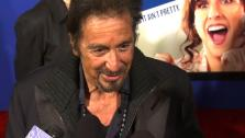 Al Pacino says Adam Sandlers female character in Jack & Jill is convincing but not really very hot.