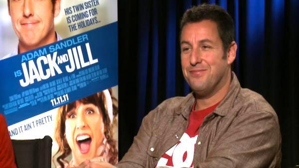 Adam Sandler jokes about casting friends