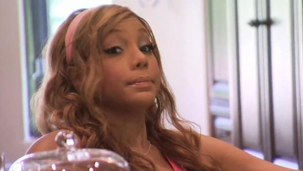 Tamar Braxton appears in a scene from Braxton Family Values in an episode that aired on Nov. 10, 2011. - Provided courtesy of Chris Ragazzo / WE tv