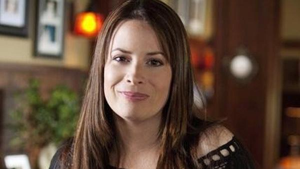 Holly Marie Combs appears in a still from 'Pretty Little Liars.'