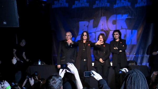 Black Sabbath reunion: Band appears at Whiskey