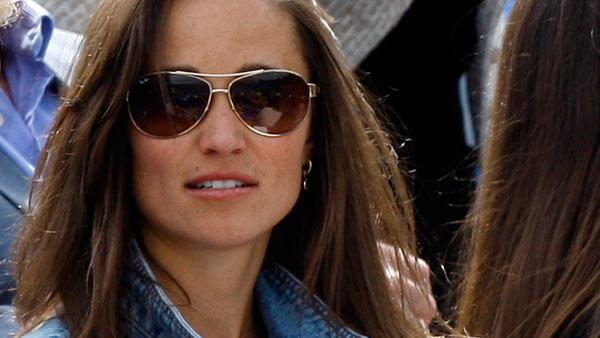 Pippa Middleton, sister of Kate, Duchess of Cambridge is seen in the audience at the Queens Grass Court Championship in London, Thursday, June 9, 2011. - Provided courtesy of AP / Kirsty Wigglesworth