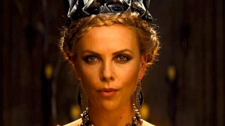 Charlize Theron appears in a still from Snow White and the Huntsman, which is slated for release on June 1, 2012.