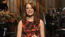 Emma Stone appears in a still from Saturday Night Live, which aired on November 12, 2011. - Provided courtesy of NBC