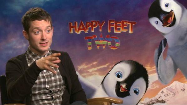 Elijah Wood talks 'Happy Feet Two' eco-message and 3D aspects