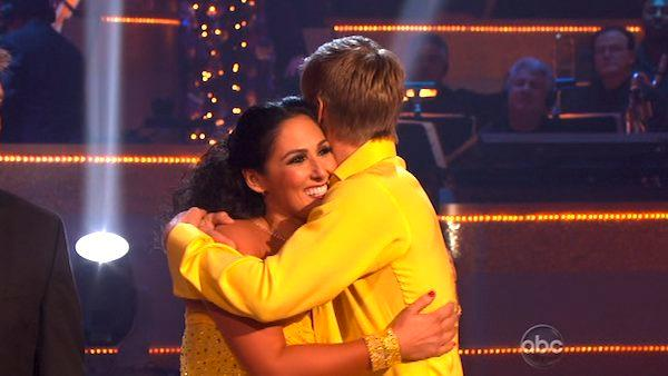Ricki Lake appears in a still from the November 14 episode of Dancing With The Stars. - Provided courtesy of OTRC